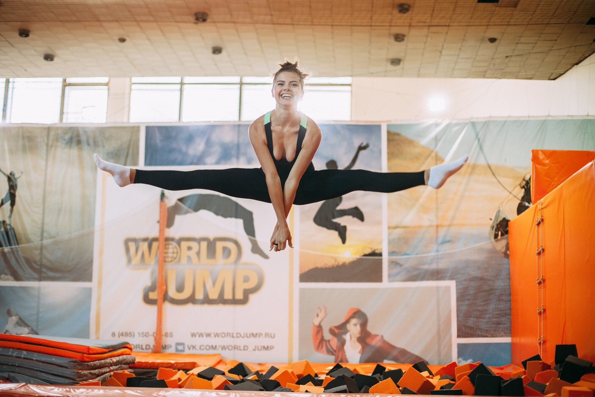 Растяжка в WorldJump